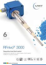 RFnivo® 3000 - Product Flyer Capacitive Sensor