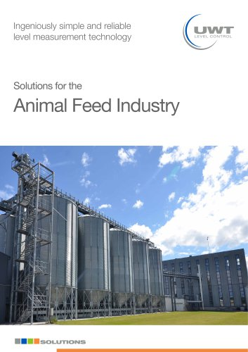 Solutions for the Animal Feed Industry
