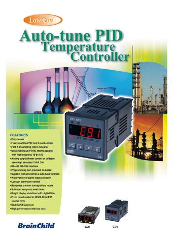Auto-tune PID Temperature Controller