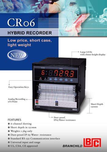 CR06 Hybrid Recorder