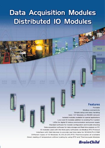 Data Acquisition Modules - Distributed IO Modules