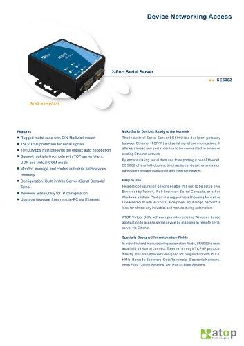 2-port Industrial Serial Server-SE5002
