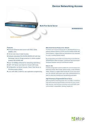Multi-port Serial Server- SE5016