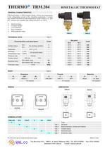 Thermostat - bimetal