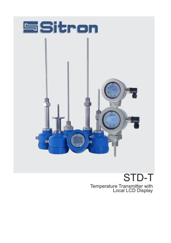 STD-TTemperature Transmitter withLocal LCD Display
