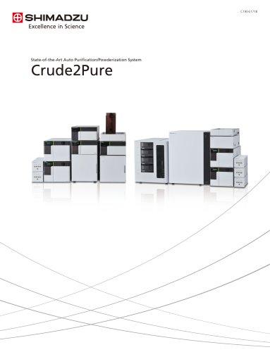 Auto Purification/Powderization System Crude2Pure