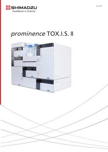 HPLC toxicological analysis modul prominence TOX.I.S. II