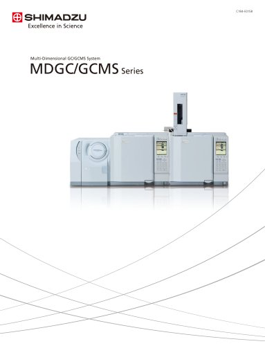 Multi-Dimensional GC/GCMS System MDGC/GCMS Series