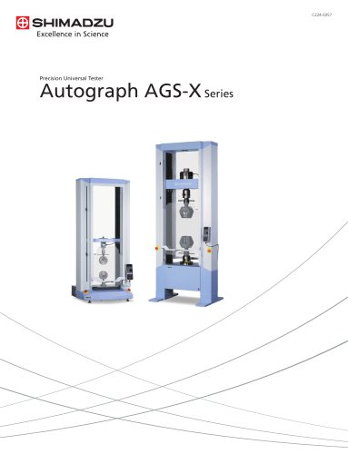 Precision Universal Tester Autograph AGS-X Series