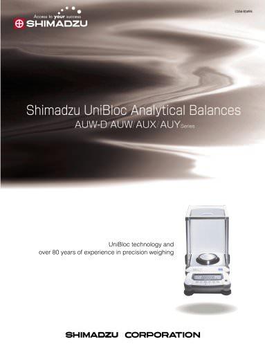 Semi-Micro/Analytical Balance AUW-D-Series