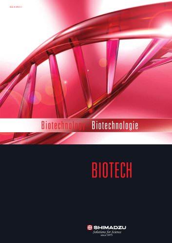 Shimadzu Biotechnology Overview