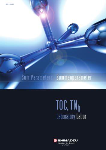 Shimadzu Sum Parameters Laboratory