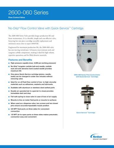 2600-060 No-Drip Fluid Control Valves
