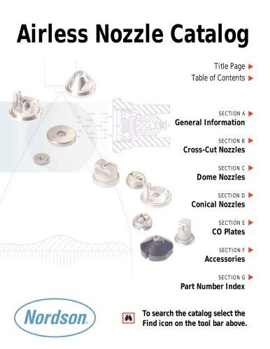 Airless Nozzle Catalog