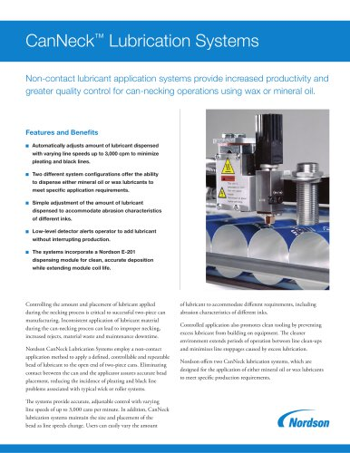 CanNeck Lubrication Systems