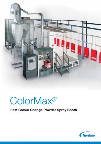 Fast Clean Powder Coating Booth - ColorMax³