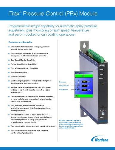 iTrax® Pressure Control (PRx) Module