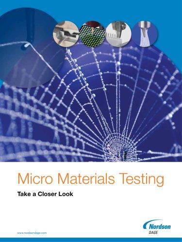 Micro Materials Testing