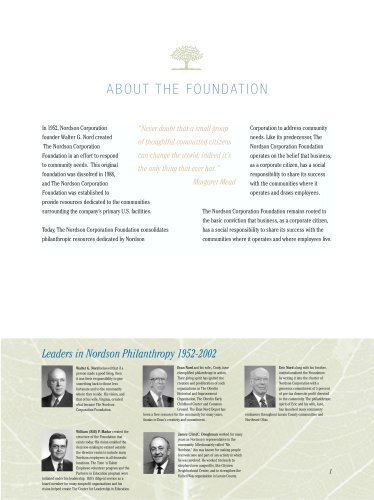 Nordson Corp Foundation - 50 Years of Giving