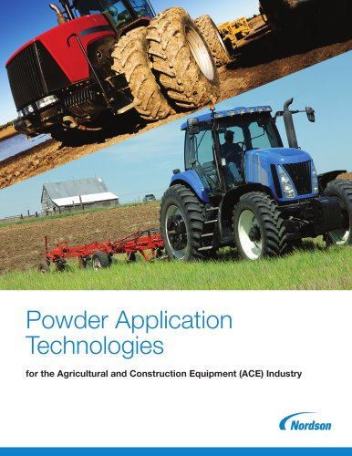 Powder Application Technologies for the Agricultural and Construction Equipment (ACE) Industry