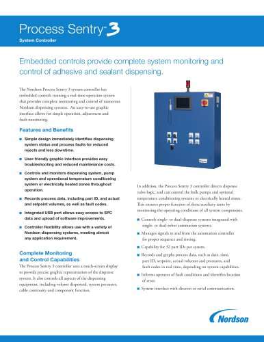 Process Sentry™ 3 System Controller