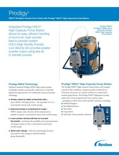 Prodigy HDLV 55-Gallon Coating Drum Dolly Brochure