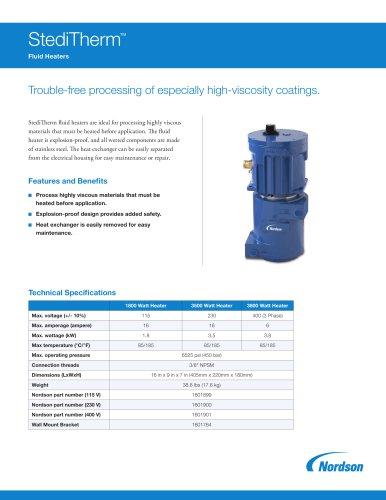 StediTherm Fluid Heaters