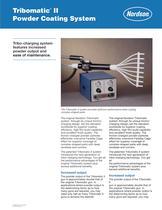 Tribomatic® II Powder Coating System