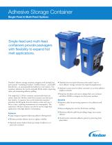 Adhesive Storage Containers