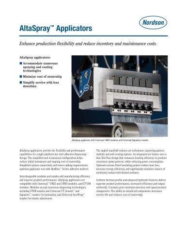 AltaSpray™ Applicators