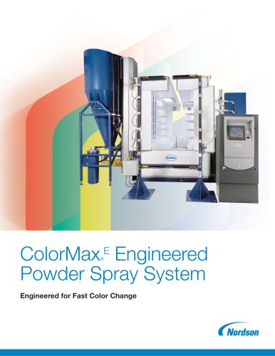 ColorMax Engineered Powder Coating System
