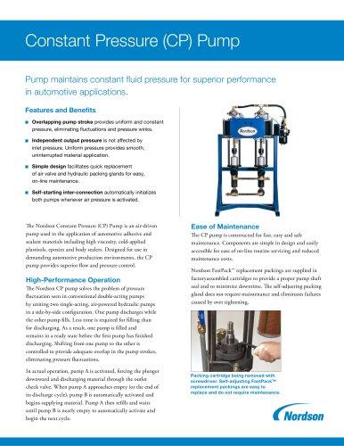 Constant Pressure (CP) Pump