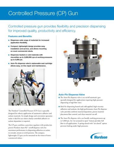 Controlled Pressure CP Gun