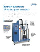 DuraPail ® Bulk Melters