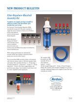 Filter-Regulator-Manifold Assembly Kit