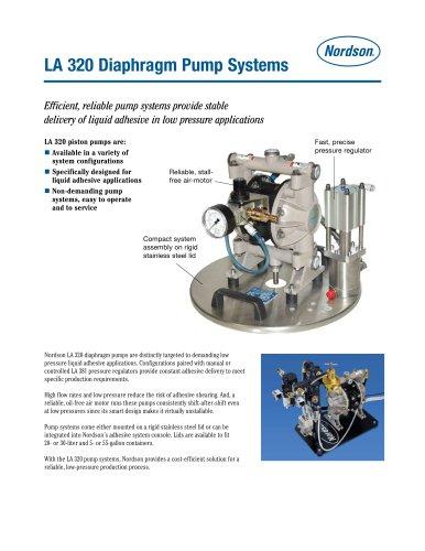 LA 320 Diaphragm Pump Systems