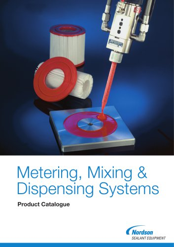 Metering, Mixing & Dispensing Systems Product Catalogue