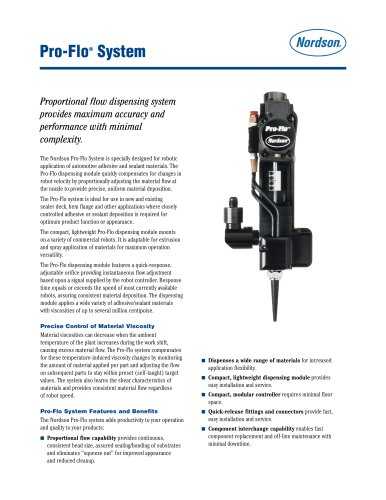 Pro-Flo Dispensing Module