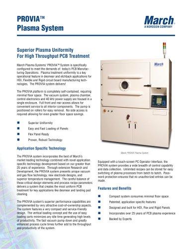 PROVIA Plasma System Brochure