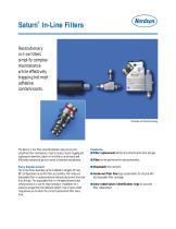 Saturn® In-Line Filter