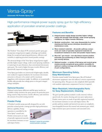 Versa-Spray IPS-PE Powder Coating Guns with Controls