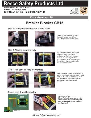 CB15 Breaker Blocker Kit