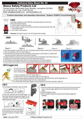 Domestic Circuit Breaker Lockout Kit