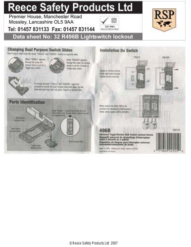 R496B Light Switch Lockout