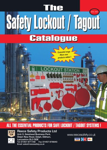 The safety Lockout - Tagout catalogue