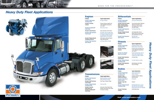 Permatex® Heavy Duty Fleet Applciation Guide