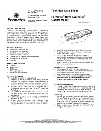 Permatex® Ultra Synthetic