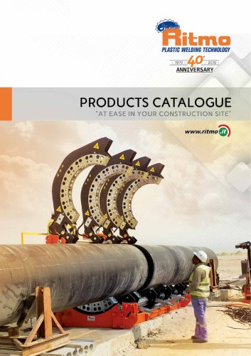 PRODUCTS CATALOGUE AT EASE IN YOUR CONSTRUCTION SITE