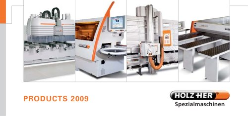 HOLZ-HER Products 2009