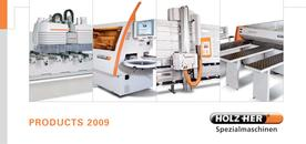 All HOLZ-HER catalogs and technical brochures
